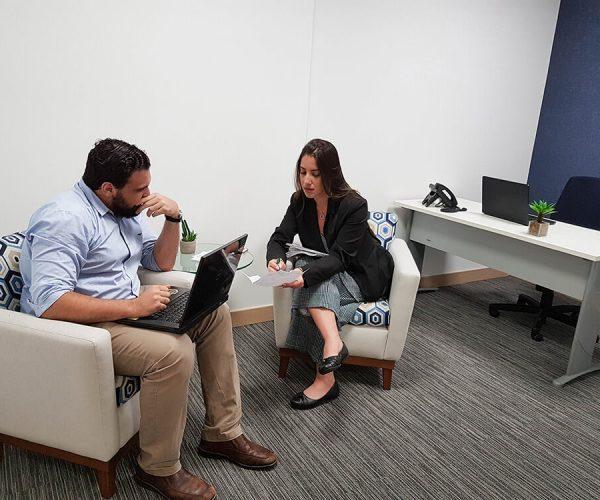 Sala para Coaching e Entrevistas